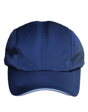Picture of Winning Spirit - CH48 - Lucky Bamboo Charcoal Cap with Reflective Sandwich and Back Strap