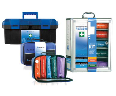Picture of VisionSafe -FAWPK - SMALL PORTABLE FIRST AID POCKET KITS