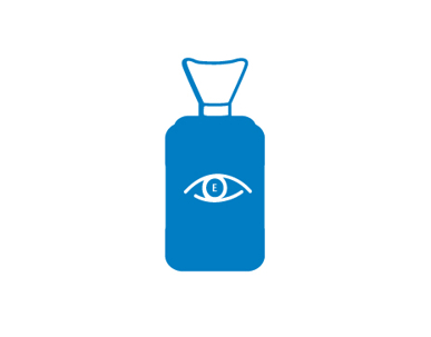 Picture of VisionSafe -FCNS500 - Eye Irrigation 500ml Saline Bottle