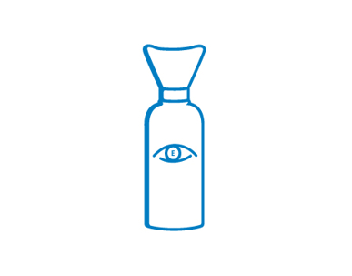 Picture of VisionSafe -FCEWB100 - Eye Wash Bottle 100ml
