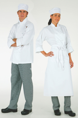 Picture of Chef Works - TPAK - Student Uniform Pack with White Jacket