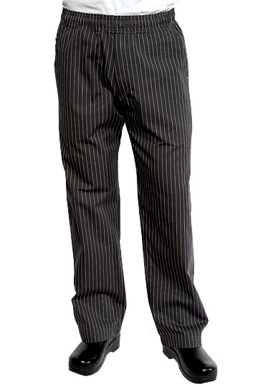 Picture of Chef Works - BPST-GRY - Gray Pinstripe Better Built Baggy