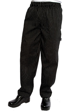 Picture of Chef Works - PINB - Pinstripe Designer Baggy