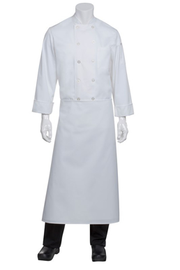 Picture of Chef Works - B4LG-WHT - White Long Four-Way Apron
