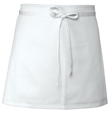 Picture of Chef Works - B4-WHT - White Four-Way Apron