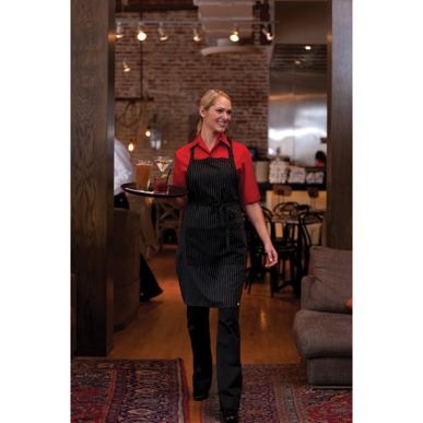 Picture of Chef Works - C100-RED - Red Café Shirt