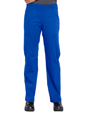 Picture of CHEROKEE-CH-WW170-Cherokee Workwear Professionals Women's Elastic Waist Mid Rise Straight Leg Pull-on Cargo Pant