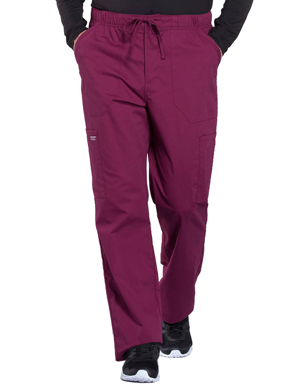 Picture of CHEROKEE-CH-WW190T-Cherokee Workwear Professionals Men's Tapered Leg Drawstring Cargo Tall Pant