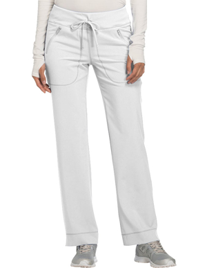 Picture of CHEROKEE-CH-CK100AT-Cherokee Infinity Women's Mid Rise Tapered Leg Drawstring Tall Pant
