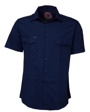 Picture of Ritemate Workwear-RM1000S-Open Front Shirts