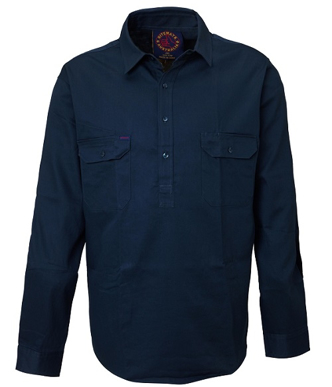 Picture of Ritemate Workwear-RM100CF-Closed Front Shirts