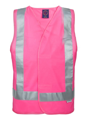 Picture of Ritemate Workwear-RM4245T-Hi Viz Vest with 3M 8910 Reflective Tape