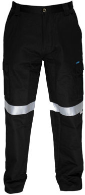 Picture of Prime Mover-MW71E-LIGHTWEIGHT CARGO PANTS WITH TAPE