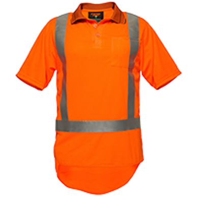 Picture of Prime Mover-MZ710-KIWI TTMC-W SHORT SLEEVE MICRO MESH POLO WITH TAPE