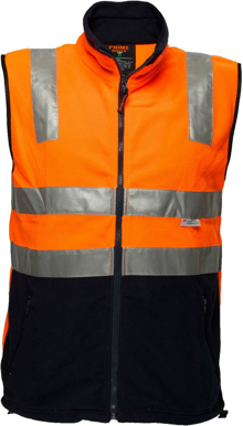 Picture of Prime Mover-MF514-Polar Fleece Vest with tape