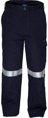 Picture of Prime Mover-MW701-Flame Retardant Cotton Drill Cargo Pants with reflective tape