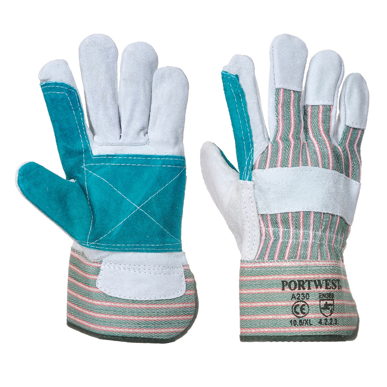 Picture of Prime Mover-A230-Double Palm Cotton Back Glove