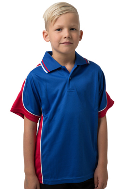 Picture of Be Seen Uniform-BSP16K-Kids Cooldry Micromesh Polo