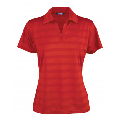 Picture of Stencil Uniforms-1153-Ladies S/S ICE COOL POLO