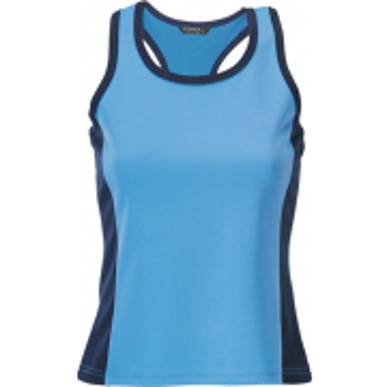Picture of Stencil Uniforms-1110F-Ladies S/S COOL DRY SINGLET