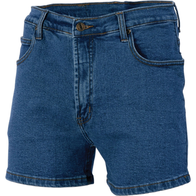Picture of DNC Workwear-3309-Demin Stretch Shorts