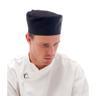 Picture of DNC Workwear-1604-Cool-Breeze Flat Top Hat With Air Flow Mesh Upper
