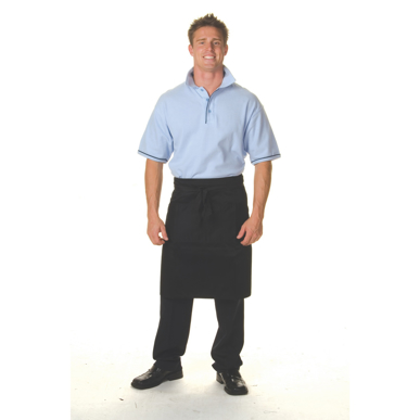 Picture of DNC Workwear-2302-Cotton Drill Three Quarters (3/4) Apron —No Pocket