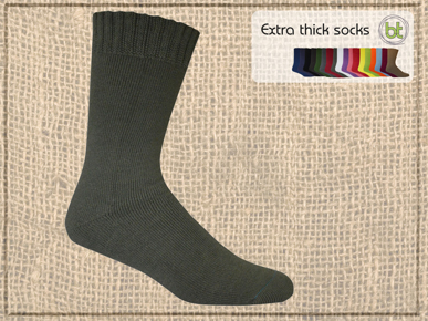 Picture of Bamboo Textiles-BATHICK-Extra Thick Socks