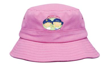 Picture of Headwear Stockist-4132-Brushed Sports Twill Infants Bucket Hat