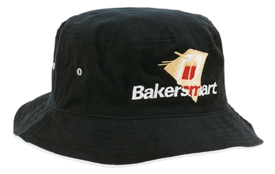 Picture of Headwear Stockist-4223-Brushed Sports Twill Bucket Hat