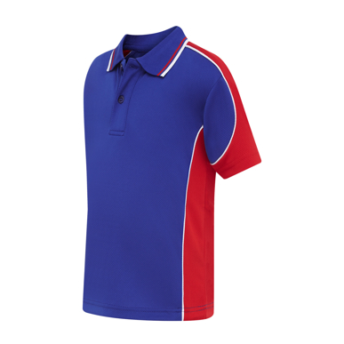 Picture of LW Reid-5932FP-Macarthur Side Panel Sports Polo
