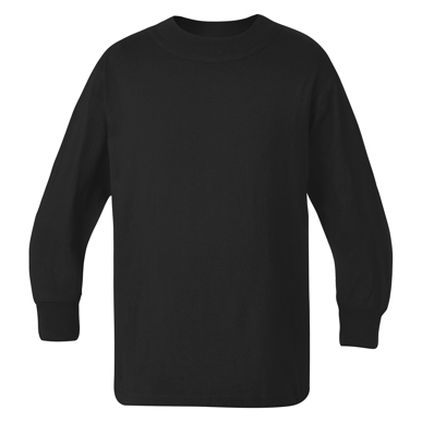 Picture of LW Reid-51801-Eyre Plain Long Sleeve T-Shirt