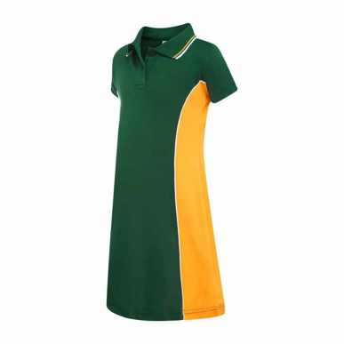 Picture of LW Reid-3764SB-Harper Polo Dress