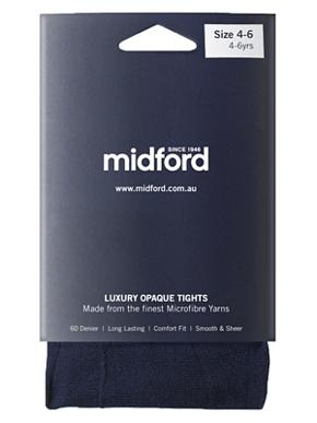 Picture of Midford Uniforms-TIG900-LADIES MICROFIBRE TIGHTS (T900L)