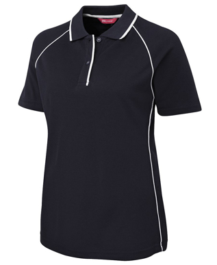 Picture of JBs Wear-2LRP-JB's LADIES RAGLAN POLO
