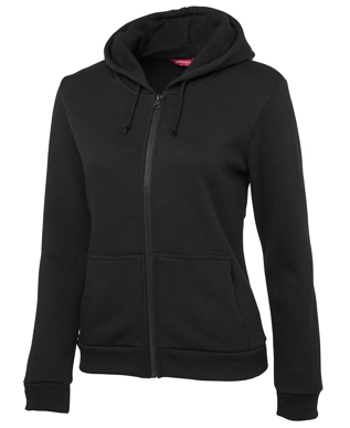 Picture of JBs Wear-3PZH1-JB's LADIES P/C FULL ZIP HOODIE