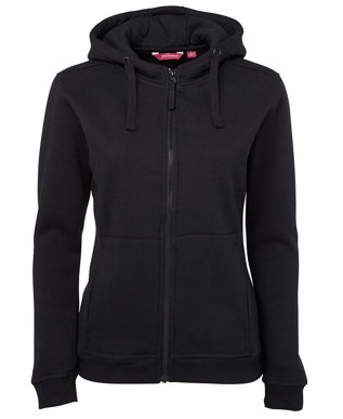 Picture of JBs Wear-3HJ1-JB's LADIES FULL ZIP FLEECE HOODIE
