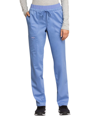Picture of Cherokee-CH-WW105T-Cherokee Workwear Revolution Women's Mid Rise Tapered Leg Drawstring Tall Pant