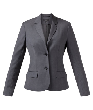 Picture of NNT Uniforms-CAT1F4-CBL-2 Button Mid Length Detail Jacket