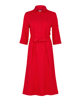 Picture of NNT Uniforms-CAT67Y-RED-Shirt Dress