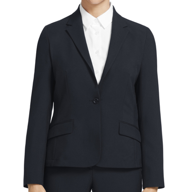Picture of NNT Uniforms-CAT1E4-NAV-1 button mid length jacket