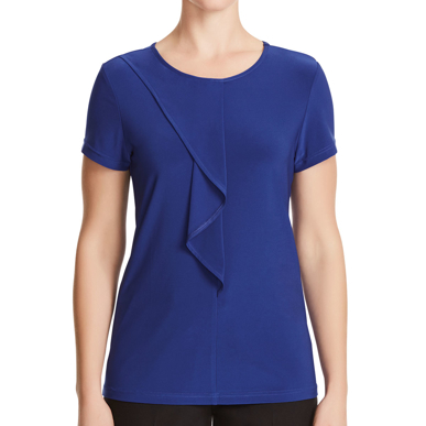 Picture of NNT Uniforms-CATU64-MBL-Short Sleeve Round Neck T-Top