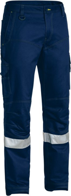 Picture of Bisley Workwear-BPC6475T-3M Taped X Airflow™ Ripstop Engineered Cargo Work Pant
