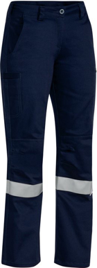 Picture of Bisley Workwear-BPL6021T-Womens 3M Taped Industrial Engineered Pant