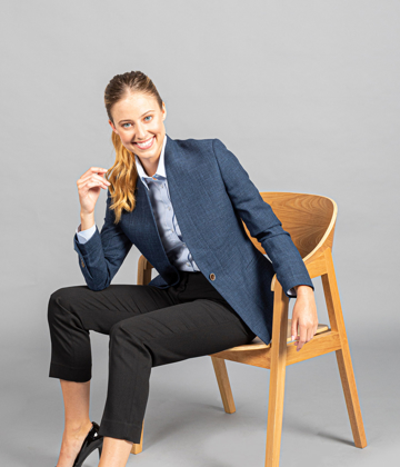 Picture of Gloweave-1888WJ-WOMEN'S CLAREMONT JACKET - BUSINESS CASUAL
