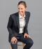 Picture of Gloweave-1765WJ-WOMEN'S ONE BUTTON JACKET - ELLIOT WASHABLE SUITING