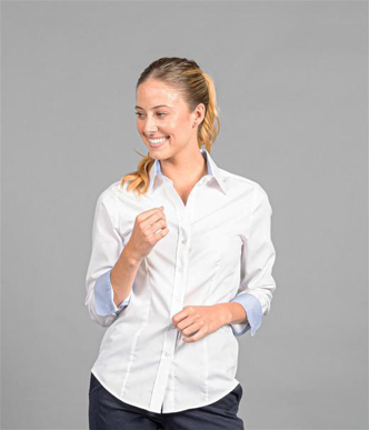 Picture of Gloweave-1899WL-WOMEN'S FINE OXFORD LONG SLEEVE SHIRT-BRADFORD