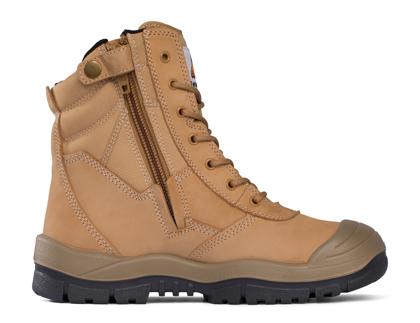 Picture of Mongrel Boots-451050-High Leg ZipSider Boot w/ Scuff Cap