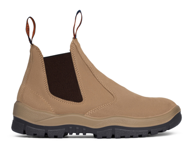 Picture of Mongrel Boots-916040-Suede Non Safety Elastic Sided Boot