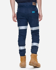 Picture of ELWD Workwear-EWD107-MENS REFLECTIVE CUFFED PANT